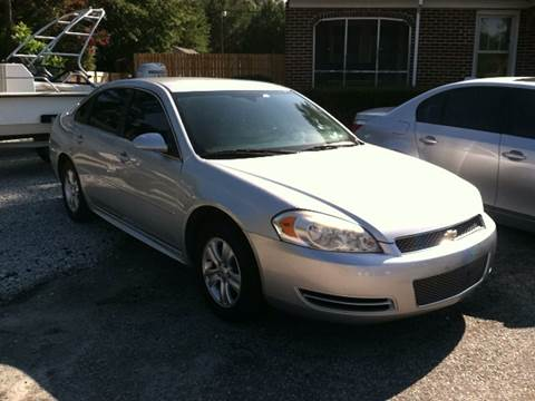 2012 Chevrolet Impala for sale in Newberry, SC