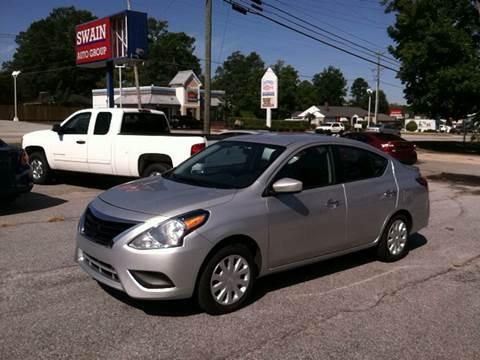 2016 Nissan Versa for sale in Newberry, SC