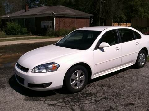 2011 Chevrolet Impala for sale in Newberry, SC