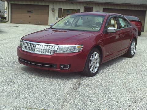 2008 Lincoln MKZ for sale in Dallastown, PA