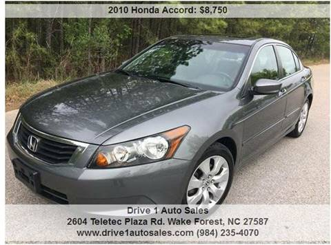 2010 Honda Accord for sale in Wake Forest, NC