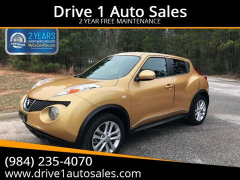 Superior 2013 Nissan JUKE For Sale In Wake Forest, NC