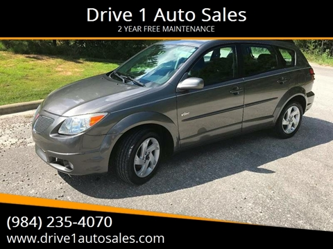 2005 Pontiac Vibe for sale in Wake Forest, NC