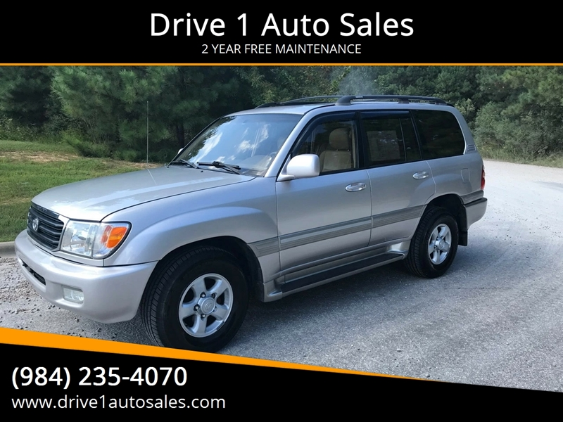 2000 Toyota Land Cruiser AWD 4dr SUV   Wake Forest NC