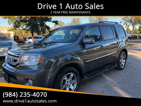2011 Honda Pilot for sale at Drive 1 Auto Sales in Wake Forest NC