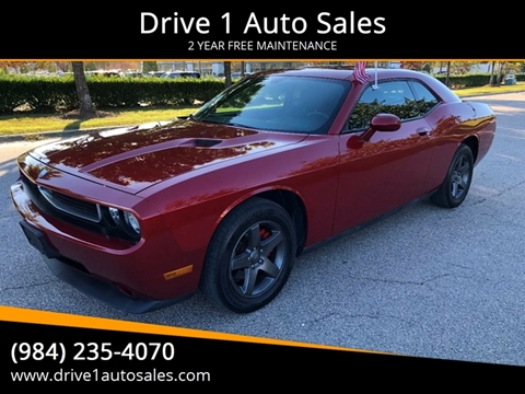 2010 Dodge Challenger for sale at Drive 1 Auto Sales in Wake Forest NC