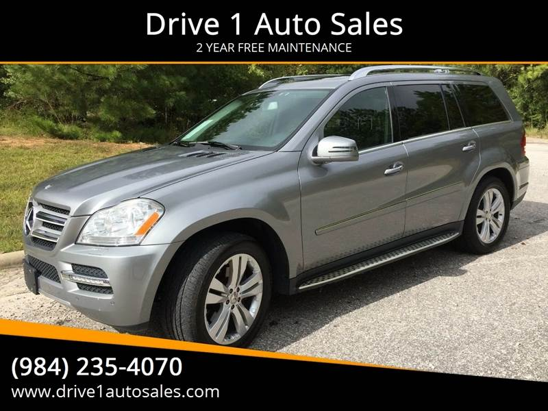 2011 Mercedes-Benz GL-Class for sale at Drive 1 Auto Sales in Wake Forest NC