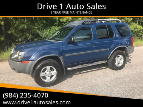 2004 Nissan Xterra for sale at Drive 1 Auto Sales in Wake Forest NC