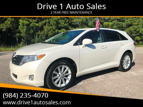 2009 Toyota Venza for sale at Drive 1 Auto Sales in Wake Forest NC