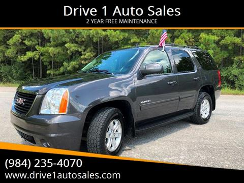 2011 GMC Yukon for sale at Drive 1 Auto Sales in Wake Forest NC