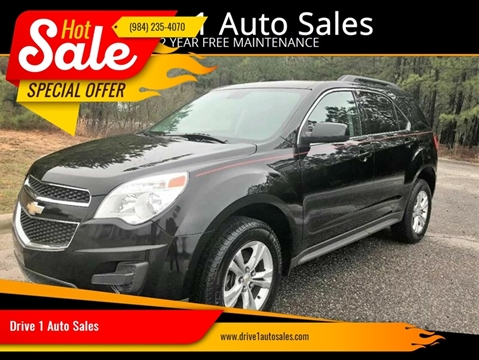 2013 Chevrolet Equinox for sale at Drive 1 Auto Sales in Wake Forest NC