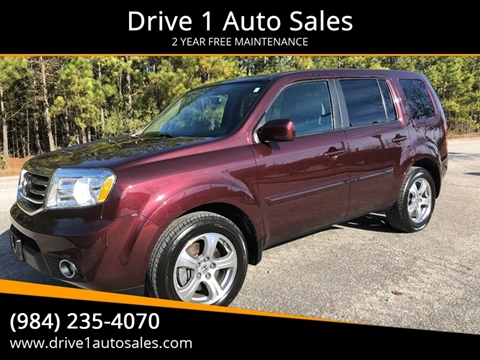 2014 Honda Pilot for sale at Drive 1 Auto Sales in Wake Forest NC