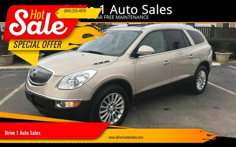 2009 Buick Enclave for sale at Drive 1 Auto Sales in Wake Forest NC