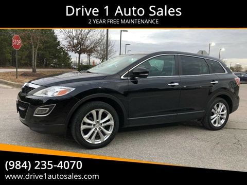 2012 Mazda CX-9 for sale at Drive 1 Auto Sales in Wake Forest NC