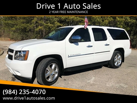 2009 Chevrolet Suburban for sale at Drive 1 Auto Sales in Wake Forest NC