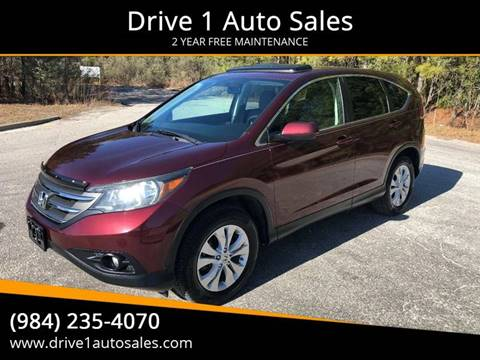 2012 Honda CR-V for sale at Drive 1 Auto Sales in Wake Forest NC