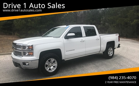 2015 Chevrolet Silverado 1500 for sale at Drive 1 Auto Sales in Wake Forest NC