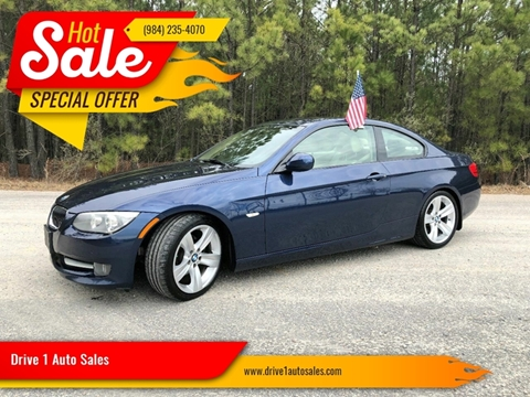 2011 BMW 3 Series for sale at Drive 1 Auto Sales in Wake Forest NC