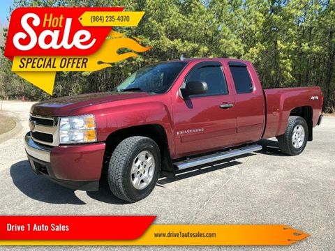 2008 Chevrolet Silverado 1500 for sale at Drive 1 Auto Sales in Wake Forest NC