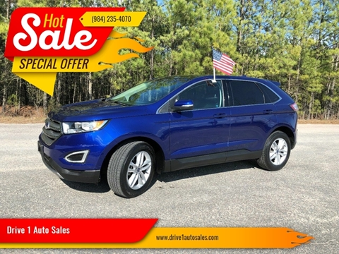 2015 Ford Edge for sale at Drive 1 Auto Sales in Wake Forest NC