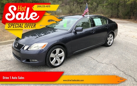 2006 Lexus GS 300 for sale at Drive 1 Auto Sales in Wake Forest NC
