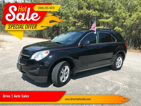 2014 Chevrolet Equinox for sale at Drive 1 Auto Sales in Wake Forest NC