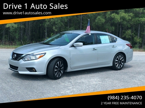 2018 Nissan Altima for sale at Drive 1 Auto Sales in Wake Forest NC