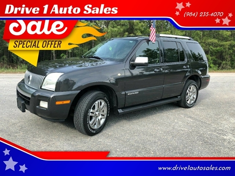 2007 Mercury Mountaineer for sale at Drive 1 Auto Sales in Wake Forest NC