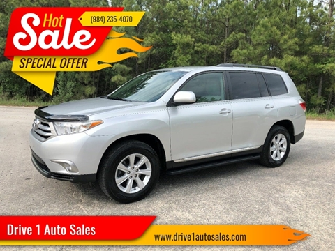 2011 Toyota Highlander for sale at Drive 1 Auto Sales in Wake Forest NC