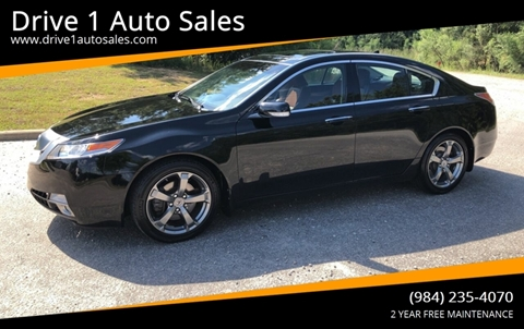 2011 Acura TL for sale at Drive 1 Auto Sales in Wake Forest NC