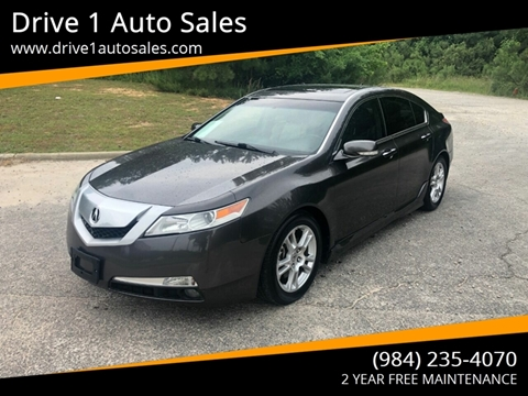 2010 Acura TL for sale at Drive 1 Auto Sales in Wake Forest NC