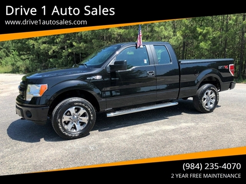 2013 Ford F-150 for sale at Drive 1 Auto Sales in Wake Forest NC