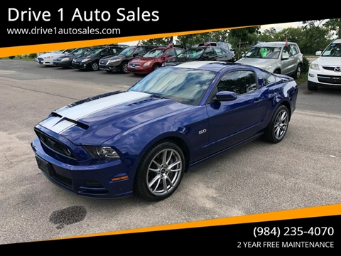 2013 Ford Mustang for sale at Drive 1 Auto Sales in Wake Forest NC