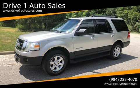 2007 Ford Expedition for sale at Drive 1 Auto Sales in Wake Forest NC