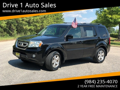 2009 Honda Pilot for sale at Drive 1 Auto Sales in Wake Forest NC