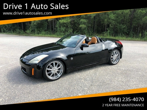 2005 Nissan 350Z for sale at Drive 1 Auto Sales in Wake Forest NC