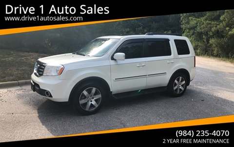 2015 Honda Pilot for sale at Drive 1 Auto Sales in Wake Forest NC