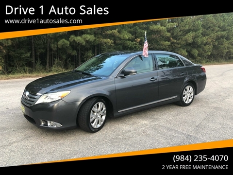 2012 Toyota Avalon for sale at Drive 1 Auto Sales in Wake Forest NC