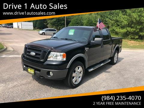 2006 Ford F-150 for sale at Drive 1 Auto Sales in Wake Forest NC