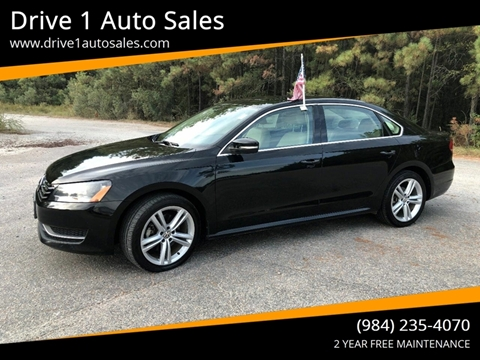 2014 Volkswagen Passat for sale at Drive 1 Auto Sales in Wake Forest NC