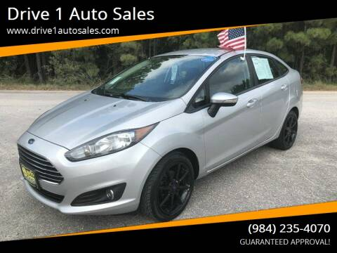 2015 Ford Fiesta for sale at Drive 1 Auto Sales in Wake Forest NC