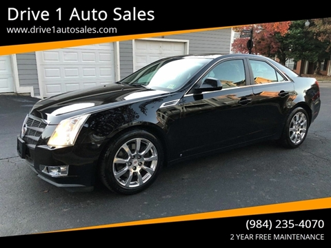 2009 Cadillac CTS for sale at Drive 1 Auto Sales in Wake Forest NC