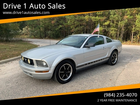 2007 Ford Mustang for sale at Drive 1 Auto Sales in Wake Forest NC