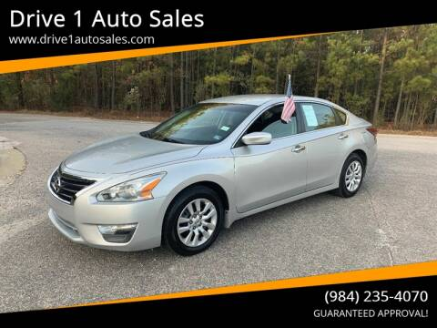 2014 Nissan Altima for sale at Drive 1 Auto Sales in Wake Forest NC