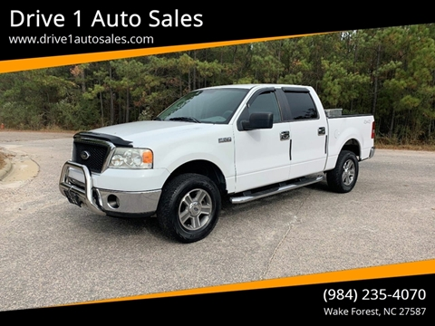 2007 Ford F-150 for sale at Drive 1 Auto Sales in Wake Forest NC
