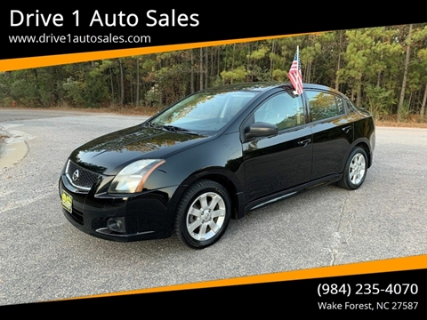 2011 Nissan Sentra for sale at Drive 1 Auto Sales in Wake Forest NC