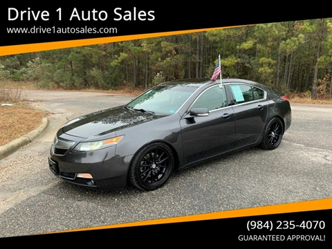 2014 Acura TL for sale at Drive 1 Auto Sales in Wake Forest NC