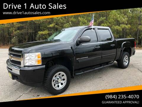 2009 Chevrolet Silverado 1500 for sale at Drive 1 Auto Sales in Wake Forest NC