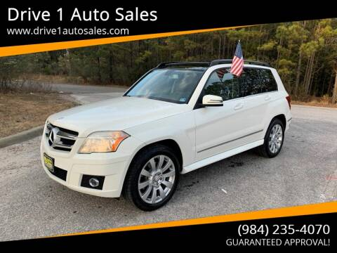2010 Mercedes-Benz GLK for sale at Drive 1 Auto Sales in Wake Forest NC