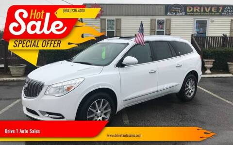 2016 Buick Enclave for sale at Drive 1 Auto Sales in Wake Forest NC
